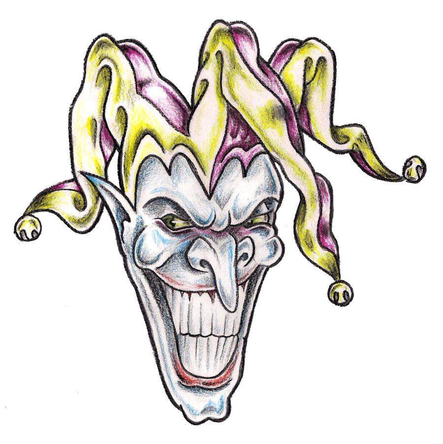 Evil Jester By TashiTam On