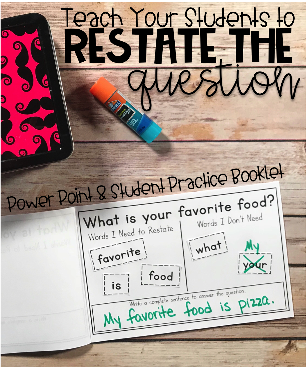 Restate The Question Practice An Introduction Amp Guided