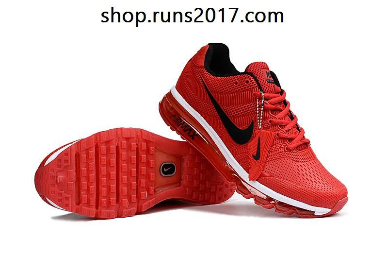 Nike Air Max 2017 KPU Red Black Tick Men Shoes