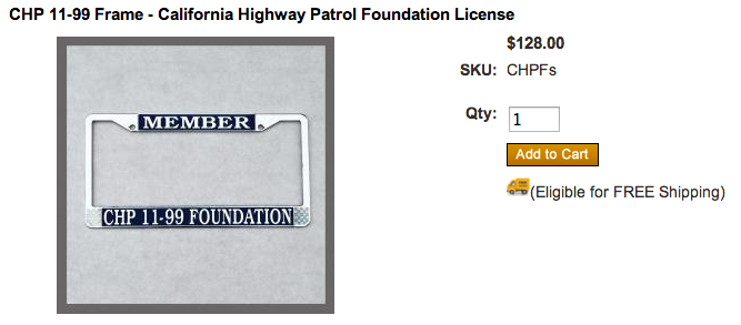 The 11-99 license plate- A License to Speed | TakeMyMoney ...