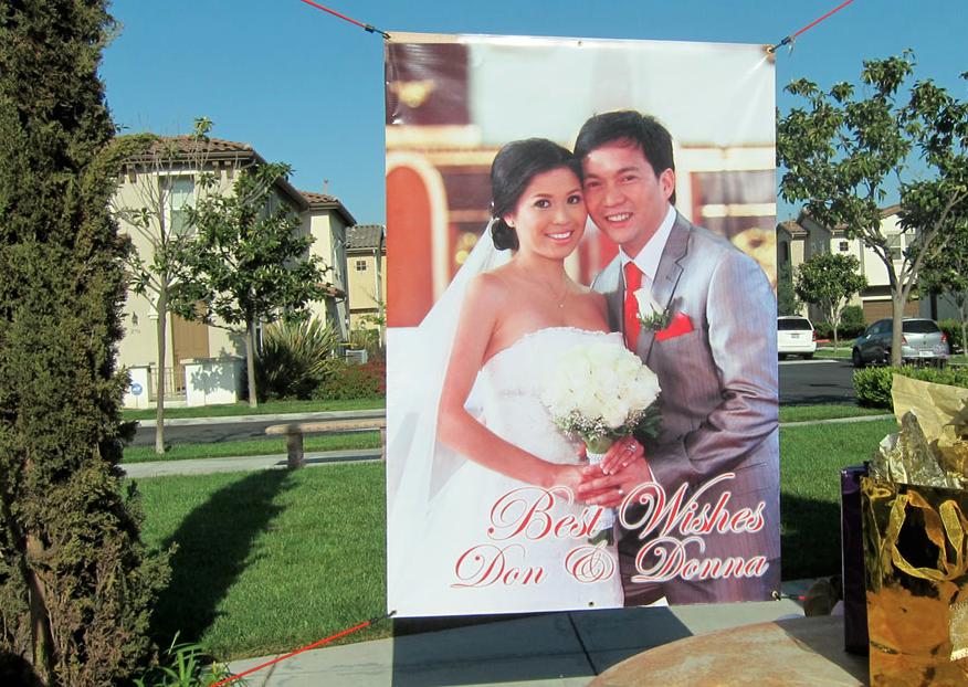 Custom Wedding Banner