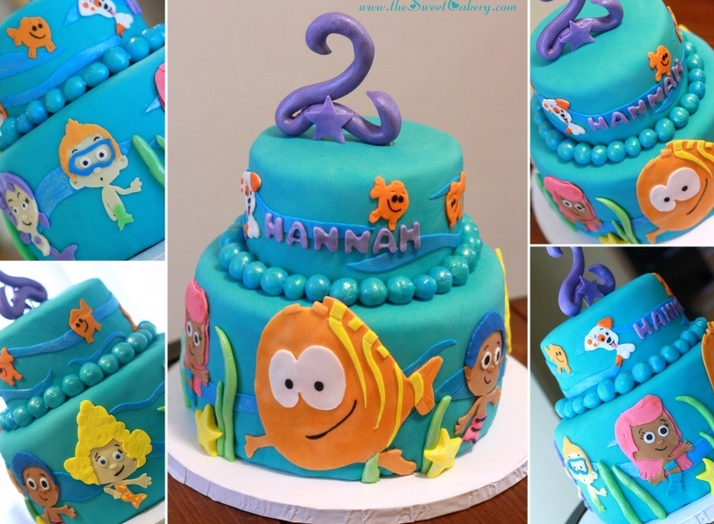 Bubble Guppies Birthday Cakes Recipes To Cook Pinterest Bubble