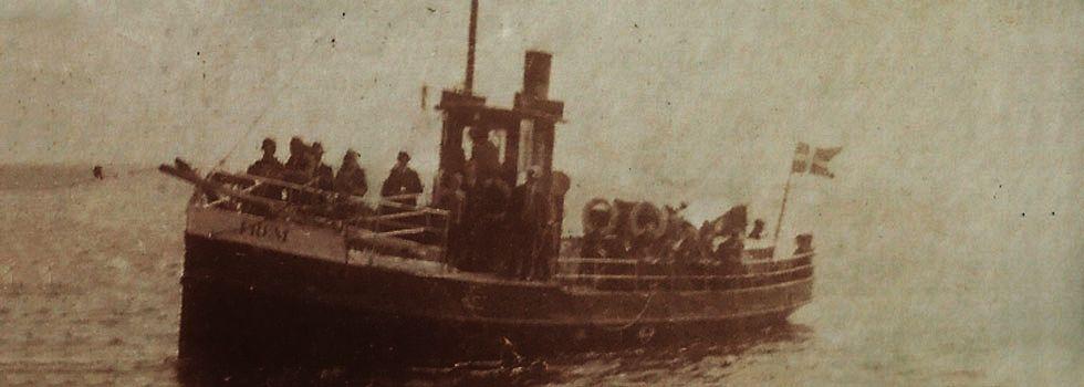 Faergen Frem Der Sejlede Mellem Bogo Og Stubbekobing Fra 1918 Til 1935 Med Billeder Faerge Monet