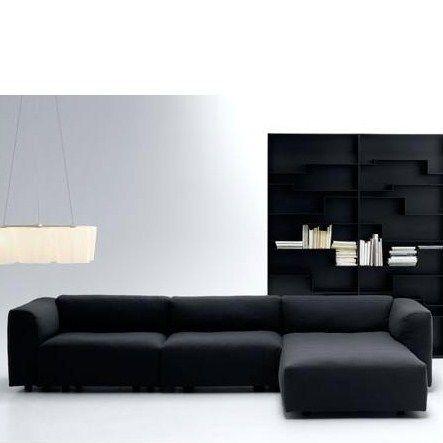 MDF Italia MATE. Design lounge bank. Een systeem van banken en ...
