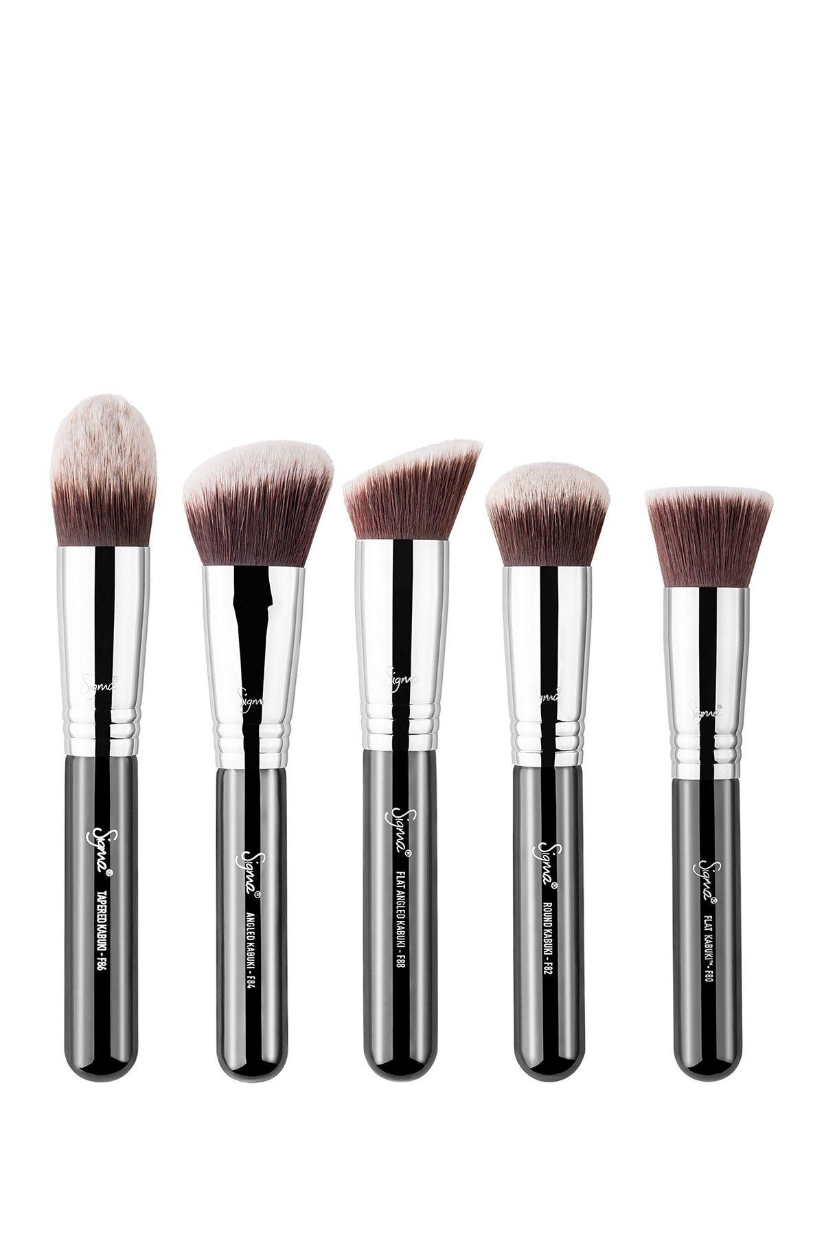 SIGMA Kabuki 5 Brush Kit Flawless makeup application