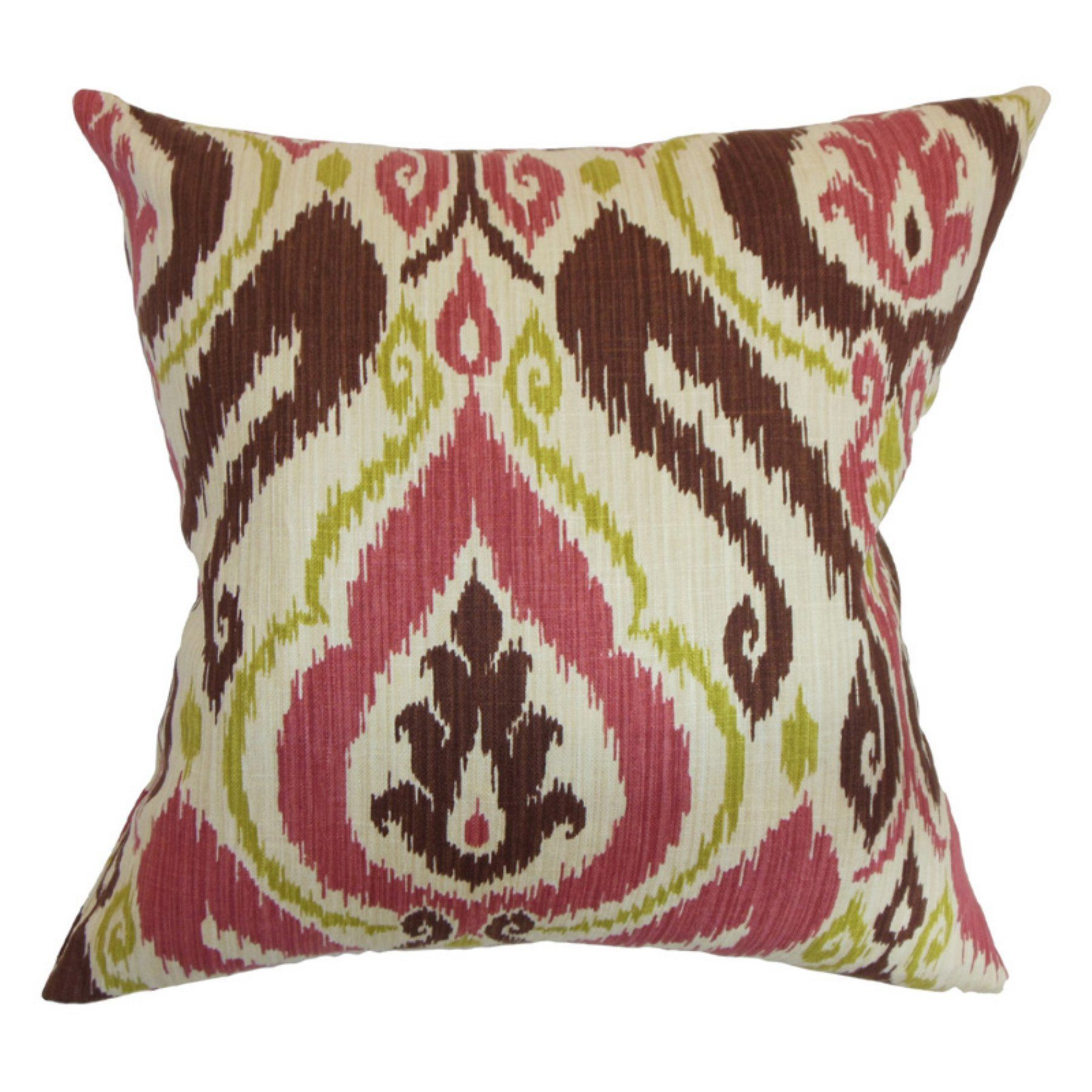 the pillow collection obo ikat pillow terrasage - The Pillow Collection
