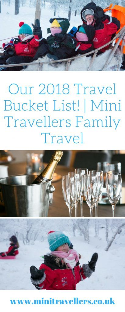 Our 2018 Travel Bucket List! | Buckets, Travel inspiration and