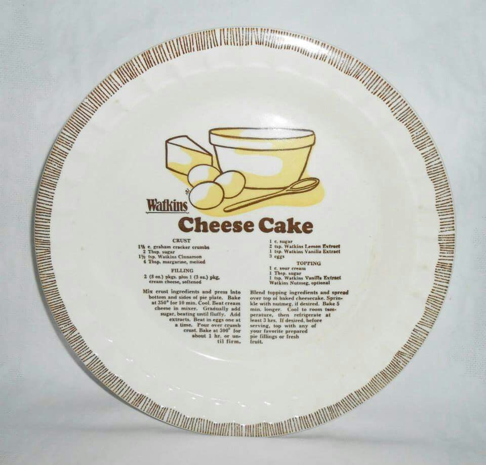 Watkins Cheesecake | Recipes | Pinterest | Cheesecakes and Recipes
