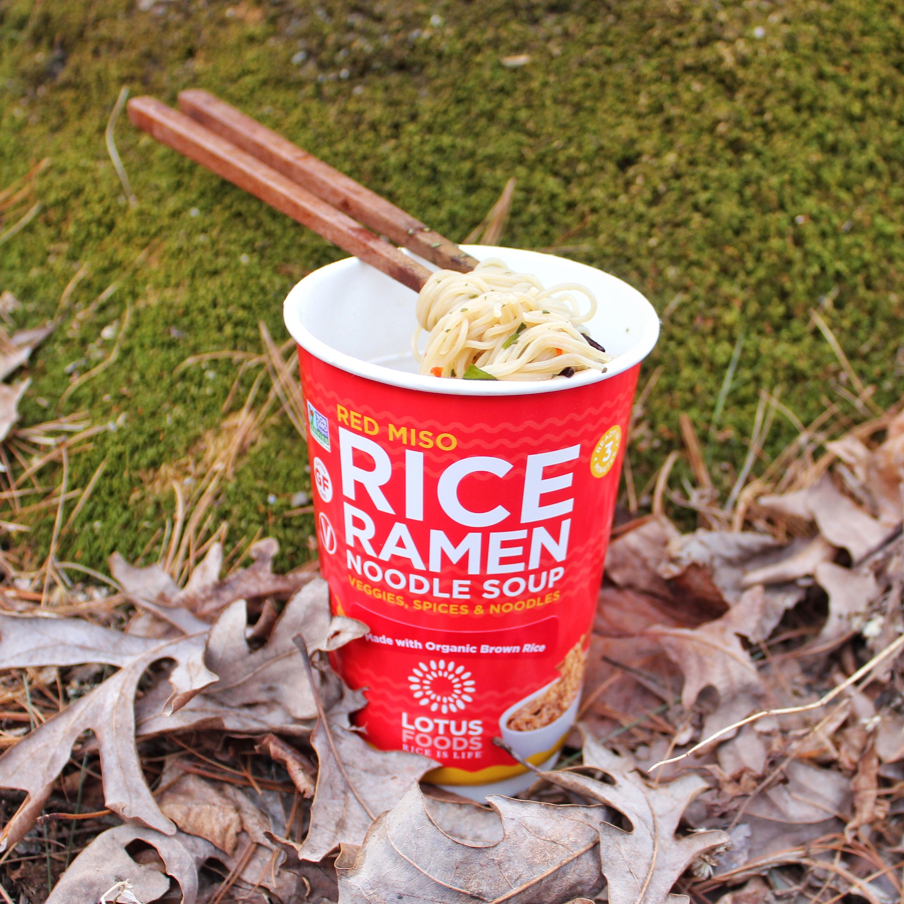these new rice ramen noodle soup cups cook and are ready