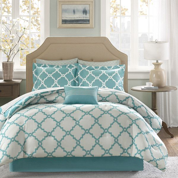 Madison Park Essentials Concord Reversible Complete Bedding Set with