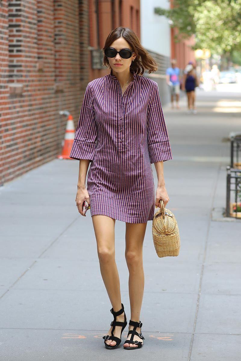 Top Looks. Sobre cestas y vestidos camiseros | Vestidos camiseros ...