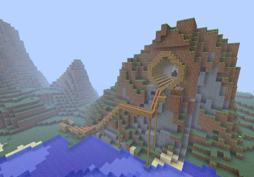 Planet Minecraft Mountain House 4279937 Lrg Jpg 1024 712