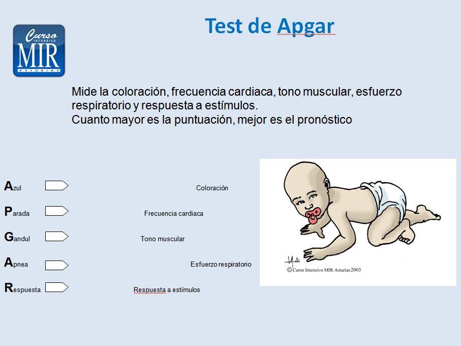 Test de Apgar - #Pediatria | medicina | Pinterest | Pediatría ...