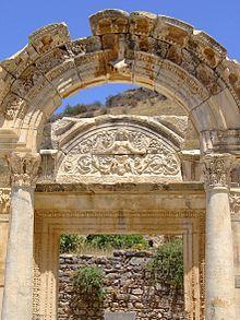 Ephesus Wikipedia The Free Encyclopedia Ephesus Kusadasi Ancient Cities