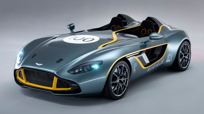 Aston Martin CC100---sleek!  video showing the build.