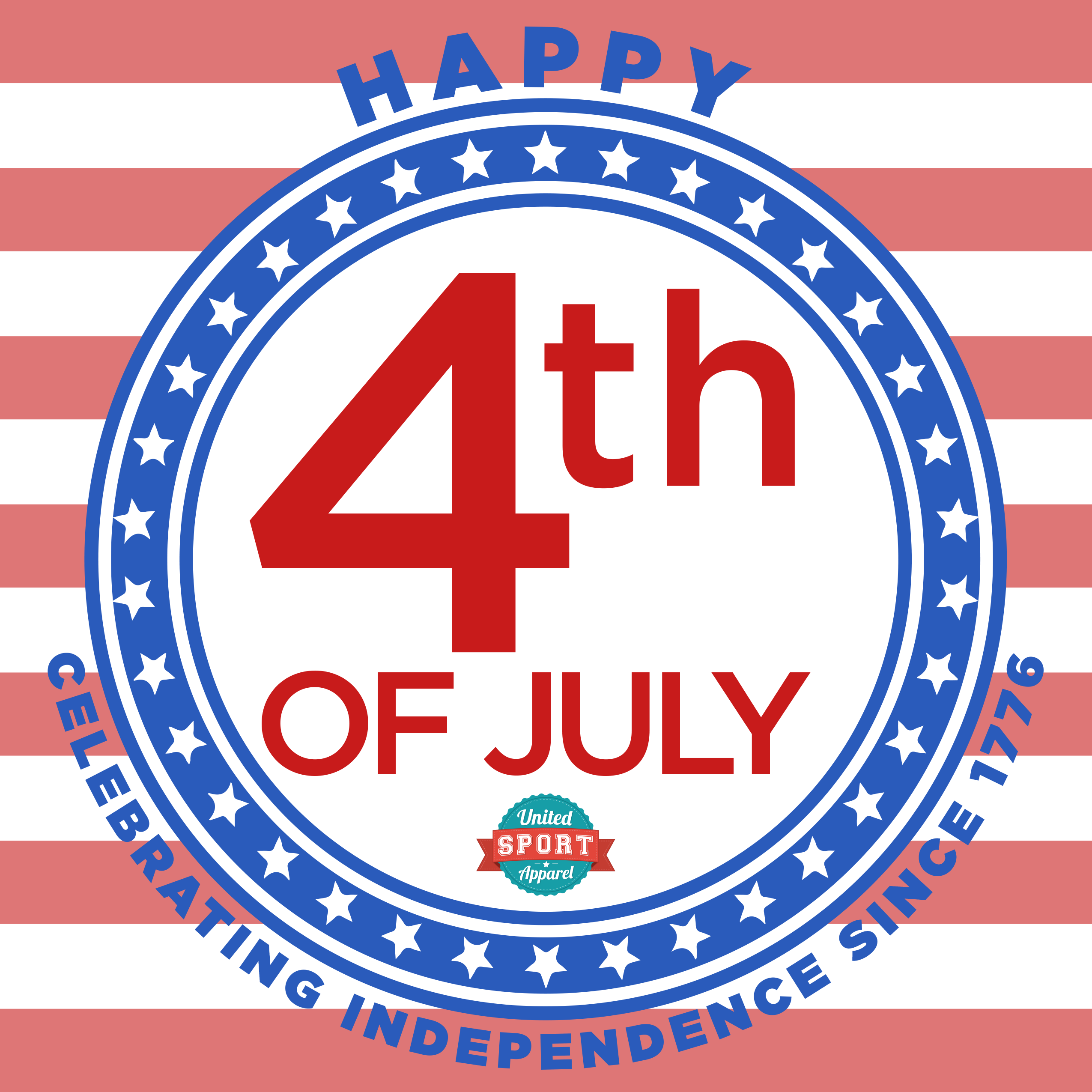 Have a happy and safe Independence Day, from all of us at