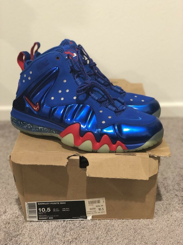 086ae0c244e 2013 NIKE BARKLEY POSITE MAX 76ERS SIXERS ENERGY BLUE FIRE RED 555097-300  10.5 #fashion #clothing #shoes #accessories #mensshoes #athleticshoes (ebay  link)