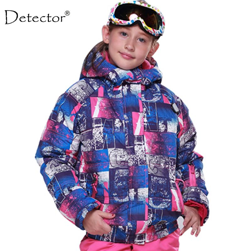 76c820907 kids winter children clothing girls skiing jacket -20 DEGREE ski ...