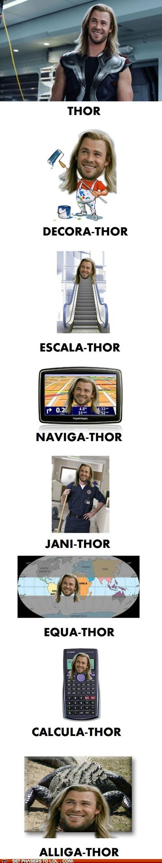 Thor's Many Jobs.