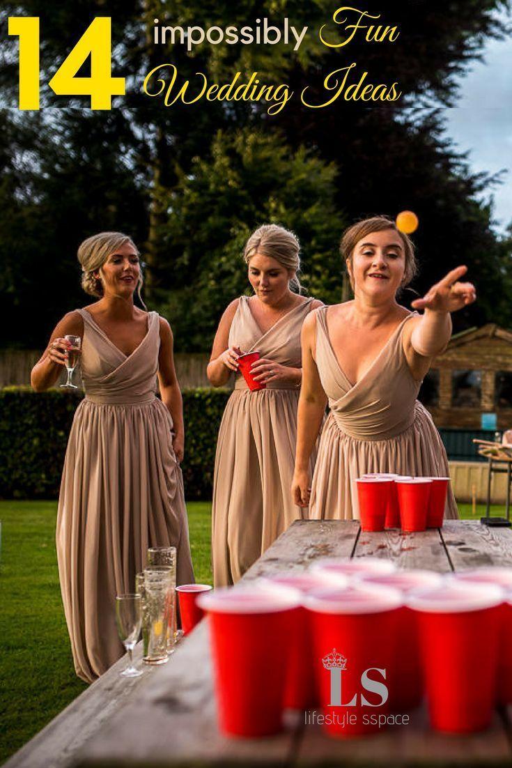 14 Impossibly Fun Wedding Ideas Pinterest Wedding Reception