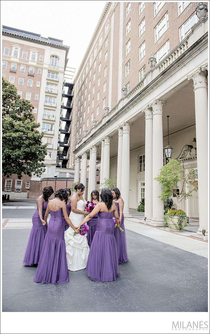 Biltmoreatlantaweddingmilanesphotography bridal parties