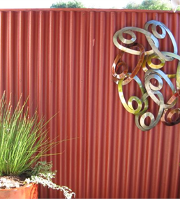 Pin By Anne Dasal On For The Home Roof Panels Metal Roof Corrugated Metal Fence