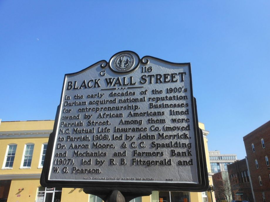 Durham Aims To Preserve The Black Wall Street Legacy With An