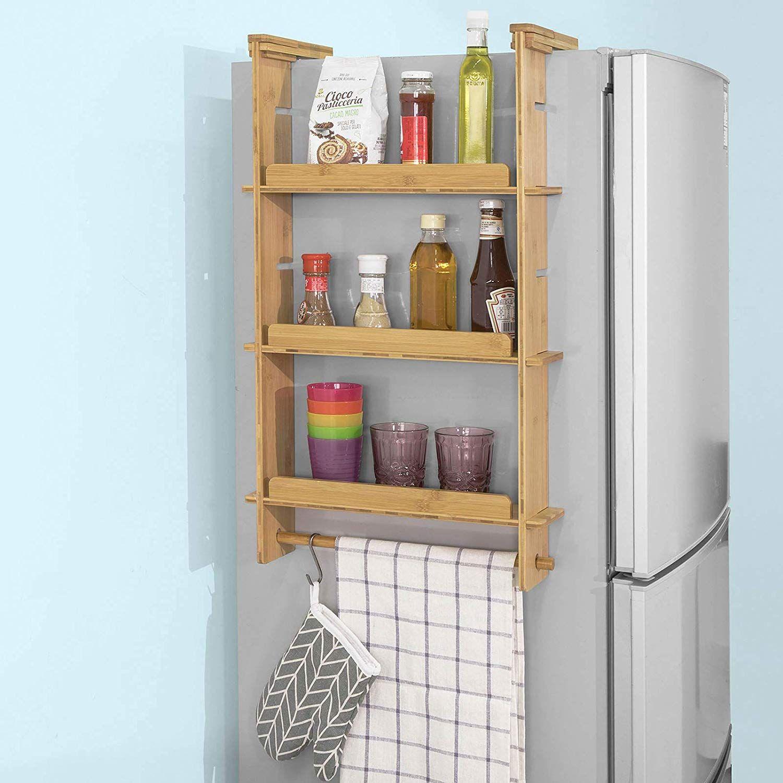 SoBuy KCR03N Design Hängeregal für Kühlschrank