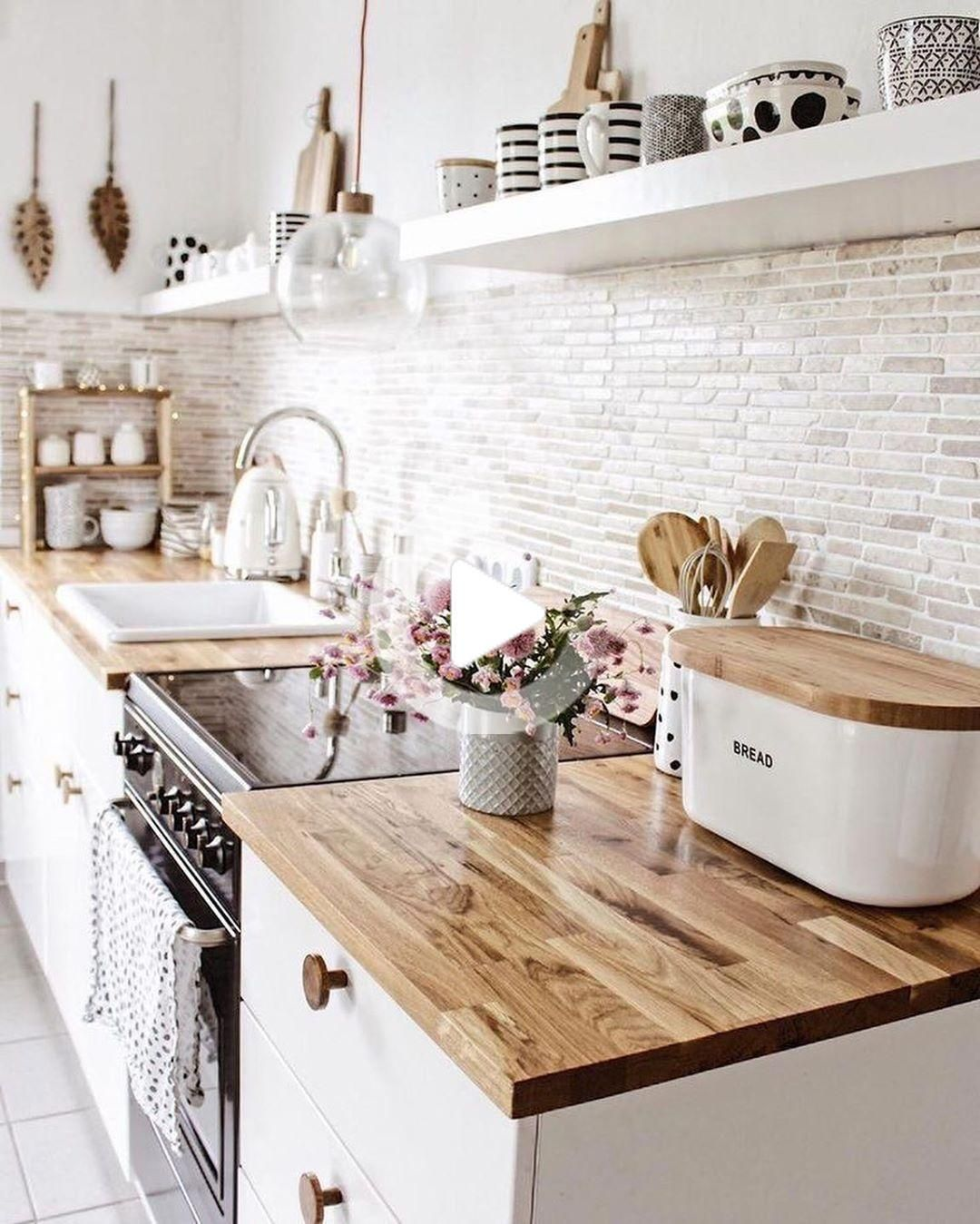 20 Decoration ideas for Scandinavian Kitchen en 20  Idée déco