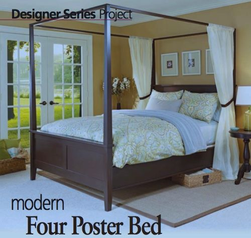 Shaker Four Poster Woodsmith Magazine Bedroom Furniture Ideas