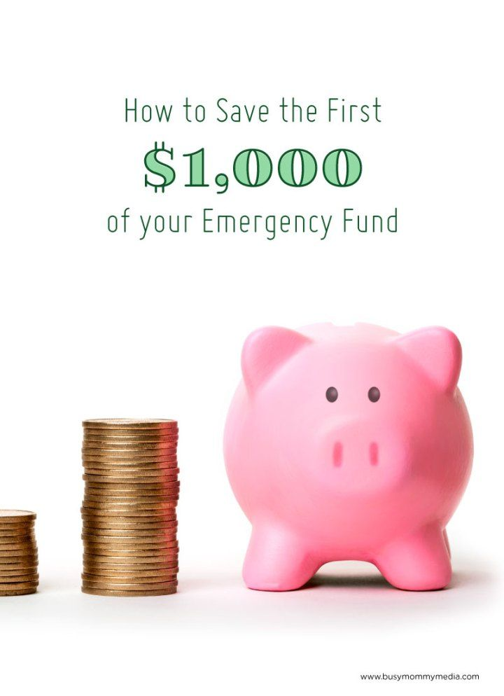 How To Save The First $1000 Of Your Emergency Fund
