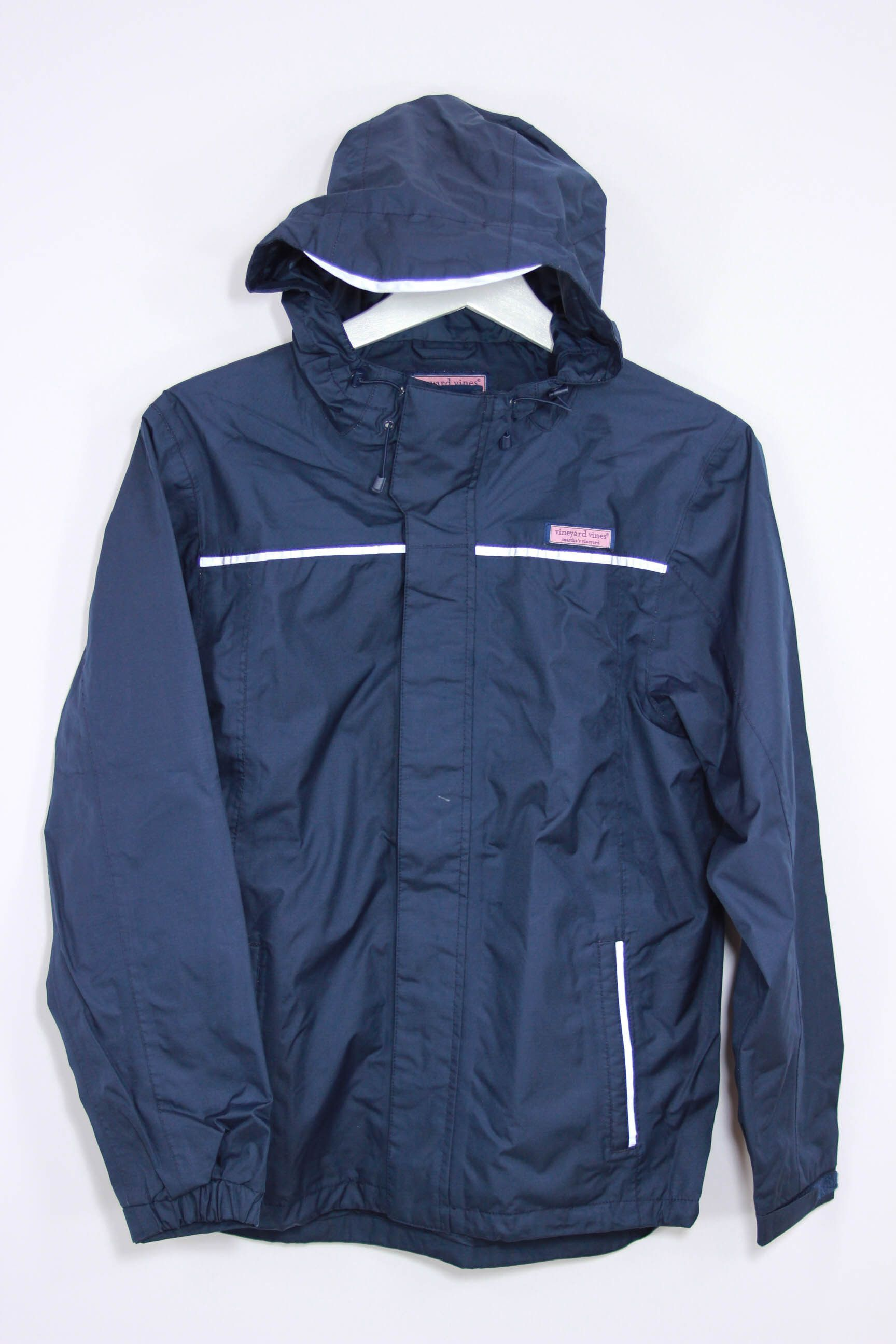 273123af1 Vineyard Vines Marthas Vineyard Size 16/18 Rain Jacket | Vineyard ...