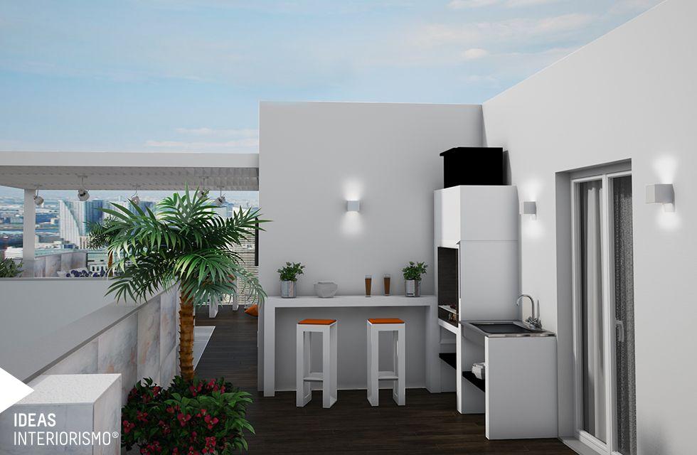 Royecto De Una Terraza De Diseño En Un ático De Valterna