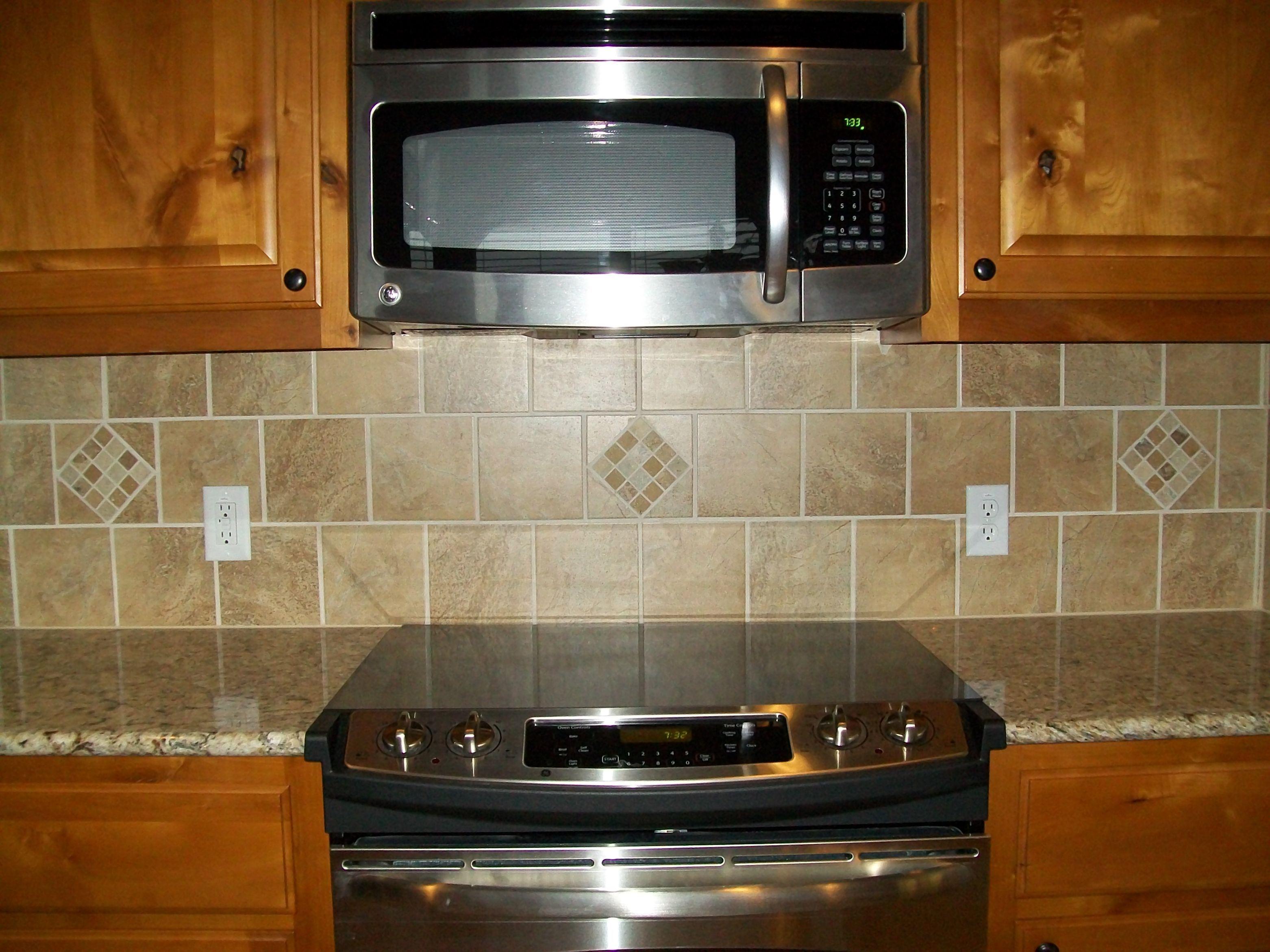 kitchen backsplash ideas Neutral Tone Traditional