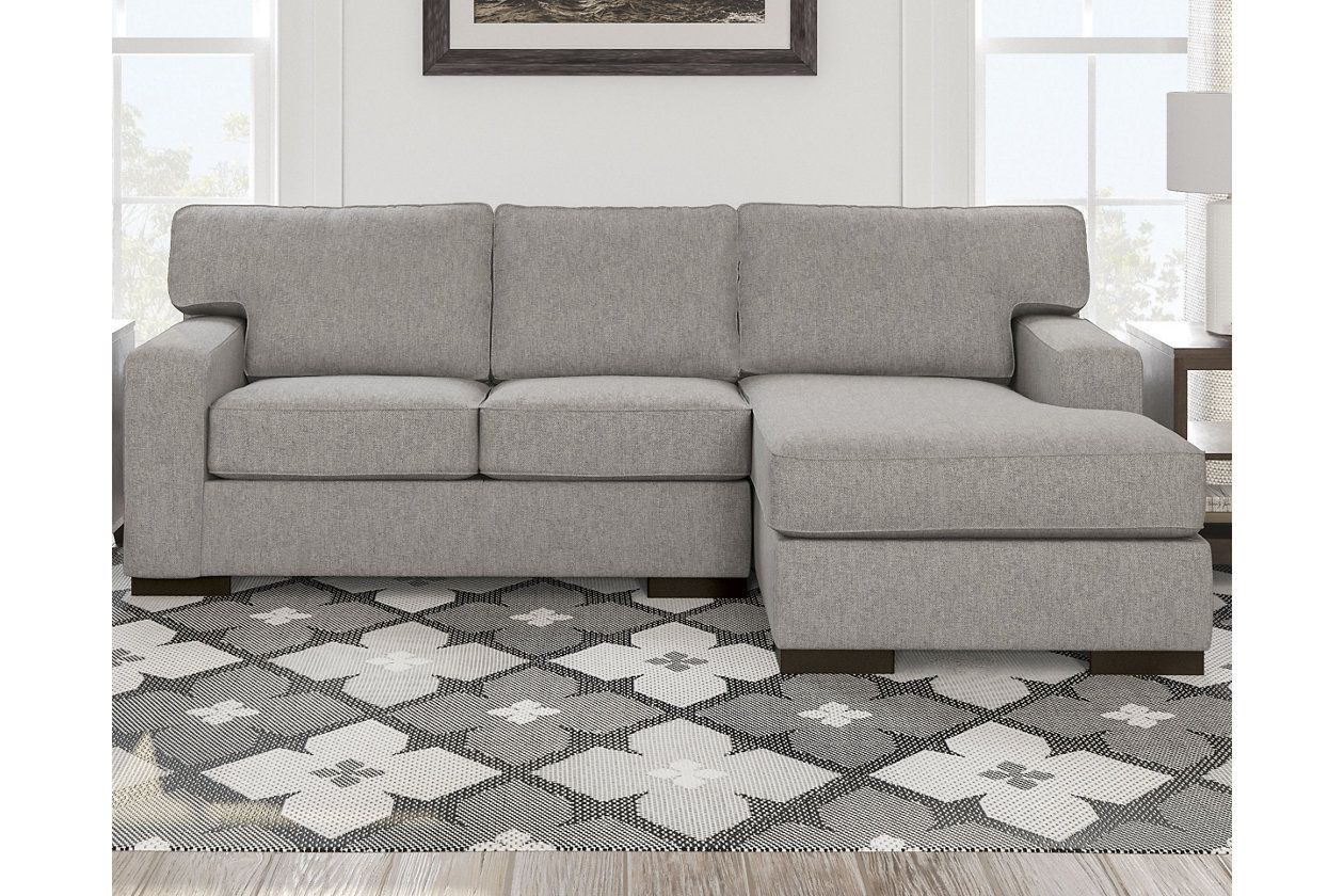 Ashlor Nuvella 2 Piece Sectional With Chaise Ashley Furniture Homestore Sectional Furniture Ashley Furniture
