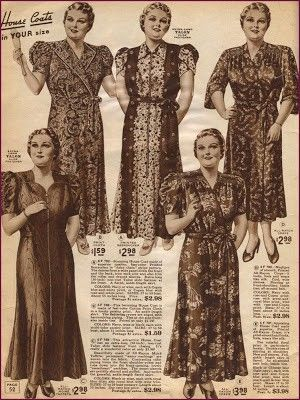 1940s Sleepwear: Nightgowns, Pajamas, Robes, Bed Jackets | 1940s ...