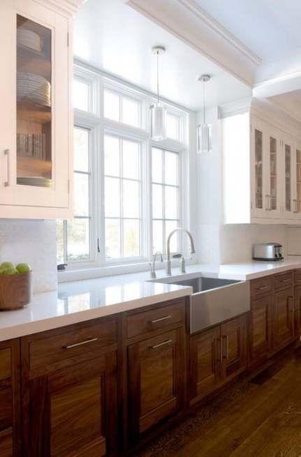 59  Ideas For Kitchen Dark Cabinets Wood Floors Ceilings #darkkitchencabinets