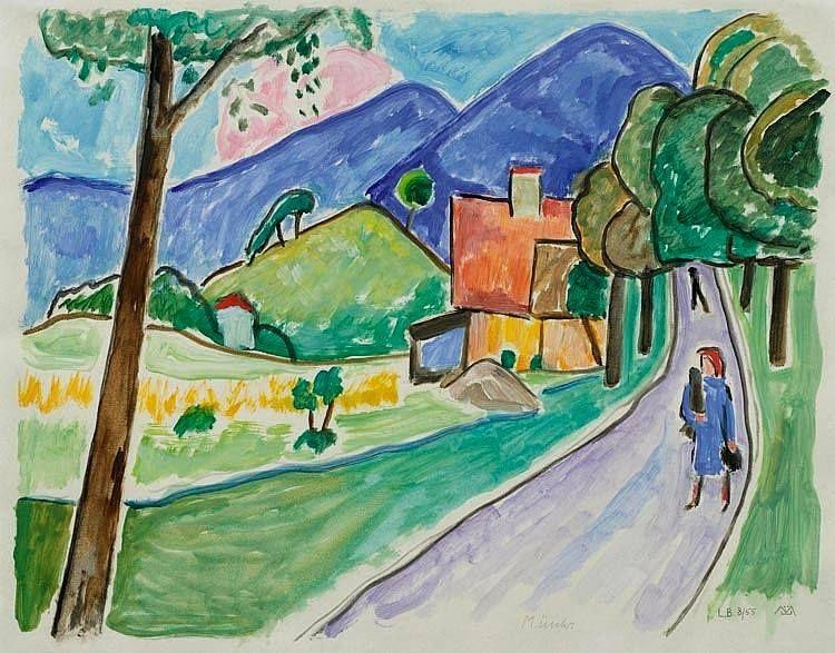 Landscape at Murnau (1955)