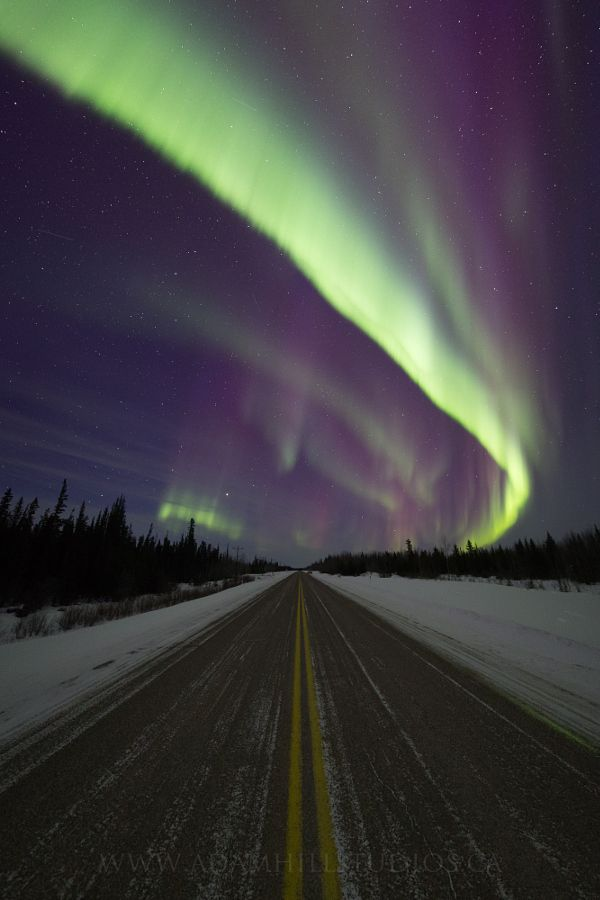 Aurora Storm, March 17, 2015 by Adam Hill