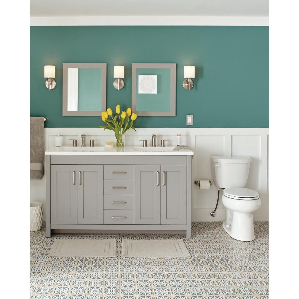 W Bath Vanity In Sterling Gray