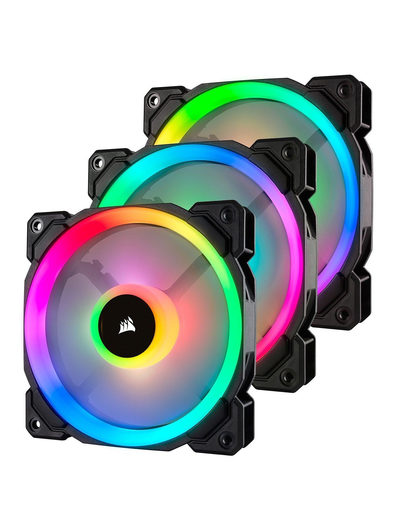 Ll120 120mm Rgb Pwm 3 Fan Pack W Lnp Rgb Led Cooling Fan Fan