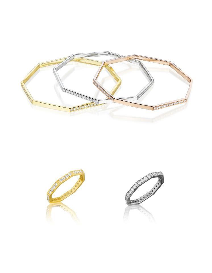 Madstone Diamond Stacking Bangles & Rings