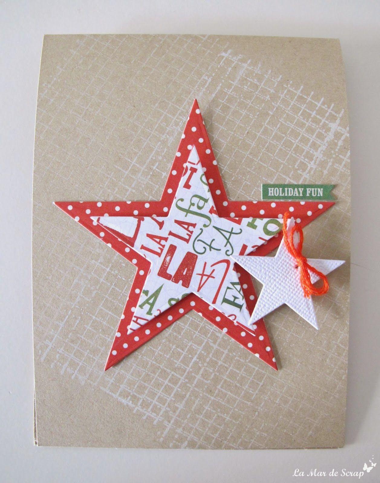 La mar de scrap tercer reto kits de somni postales - Postales navidenas originales ...