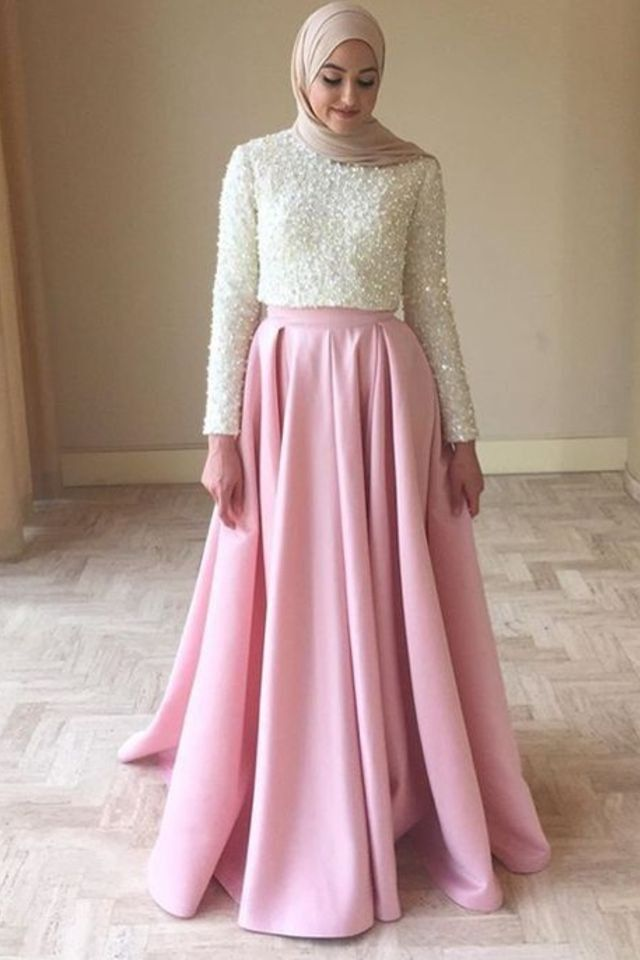 Consider this your ultimate guide to look impeccably chic this wedding season. See a selection of 12 simple hijab evening dresses to inspire you!