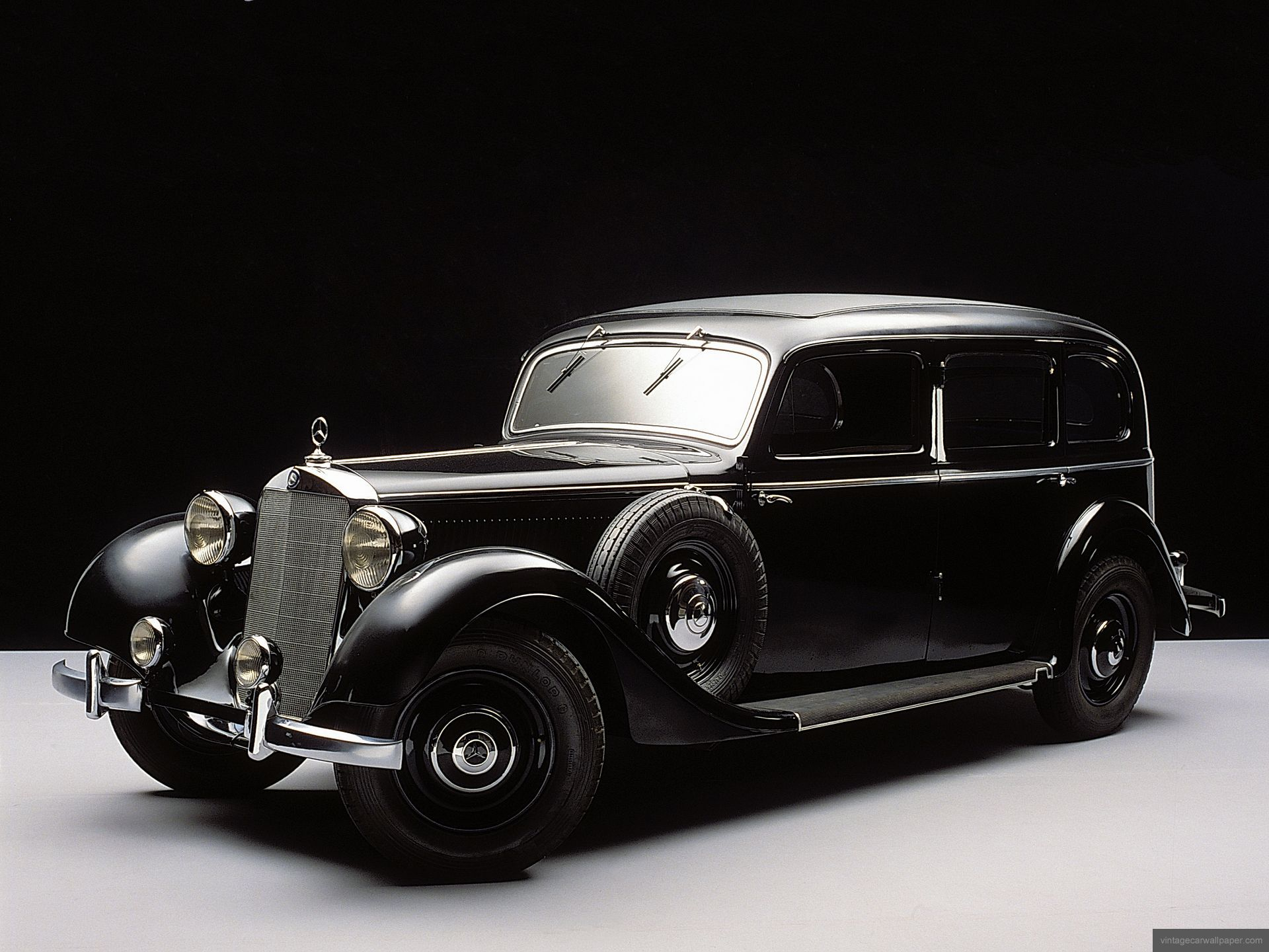 Vintage car wallpaper 1920 1950 years mercedes benz 260d pullman ...