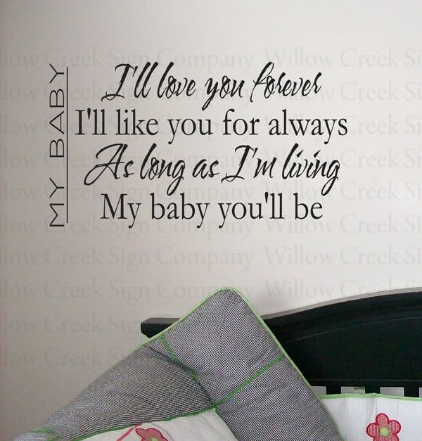 Wall Decal I Would Have Put This Up In Kyles Baby Nursery - How to put a decal on my wall