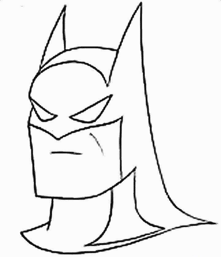 Cizgi Film Boyamalari Batman Boyama Sayfasi Batman Boyama