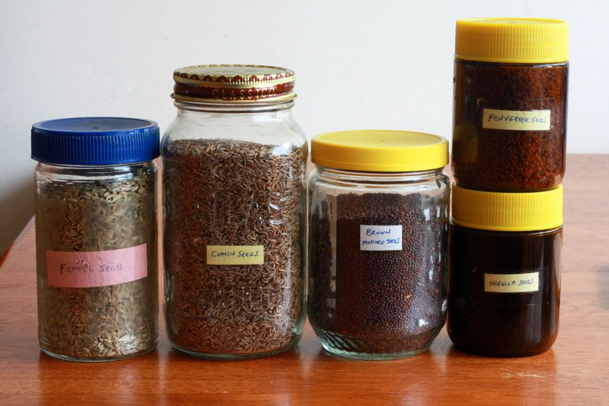 Panch Phoron paanch phoran Indian recipe seasoning spice blend