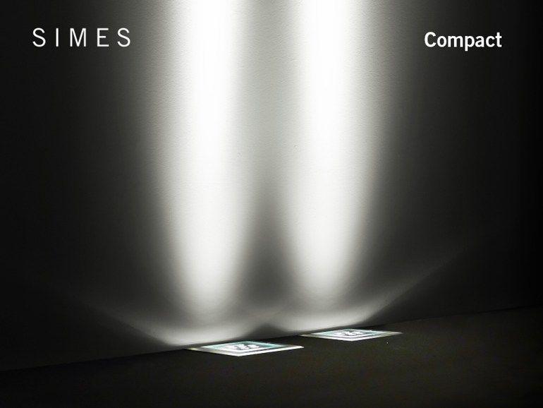 Illuminazione da incasso a ioduri metallici a led a pavimento