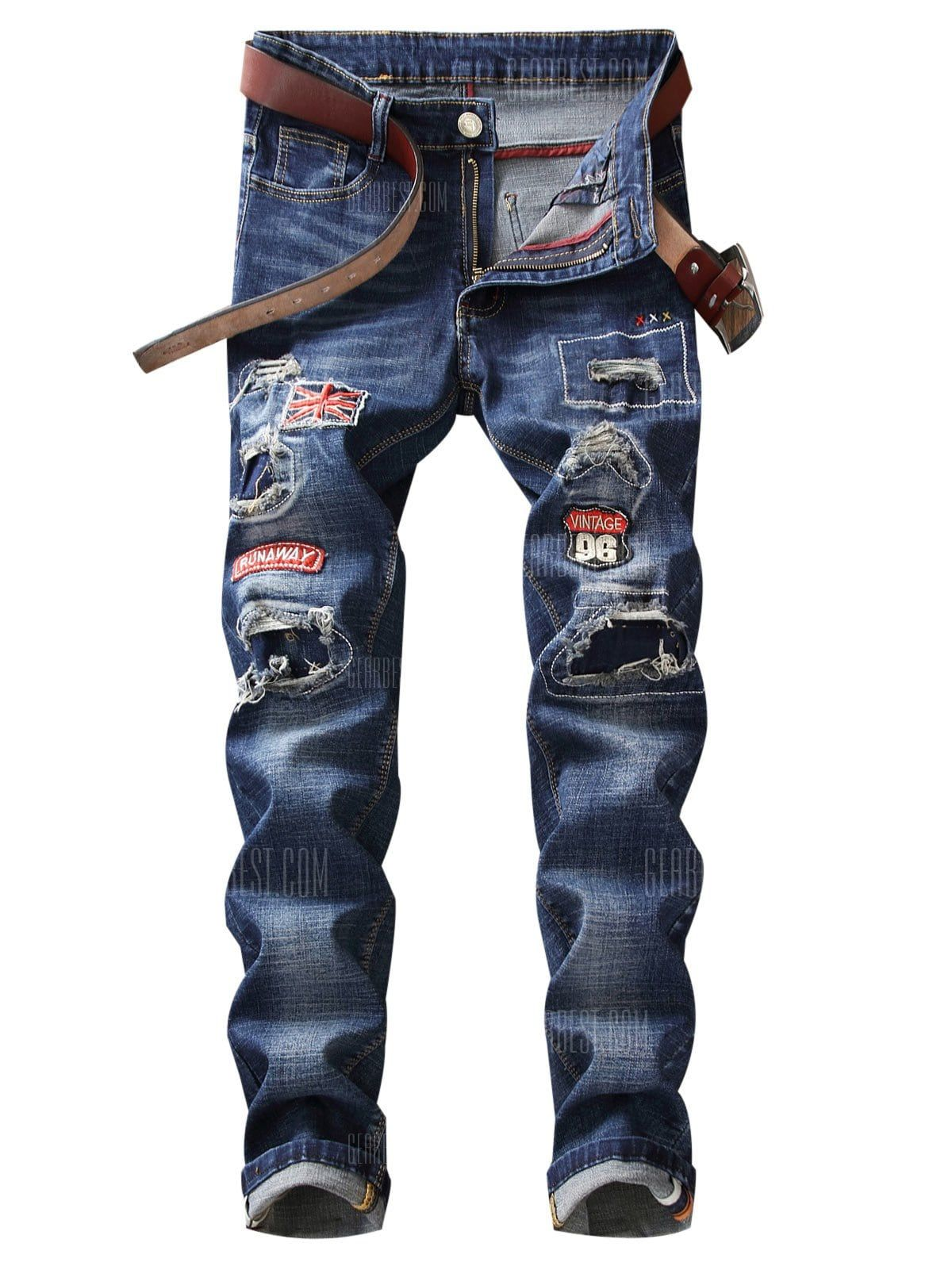 c5584a2f27f6 Patch Jeans, Patches, Legs, Fashion, Moda, Fashion Styles, Patchwork Jeans